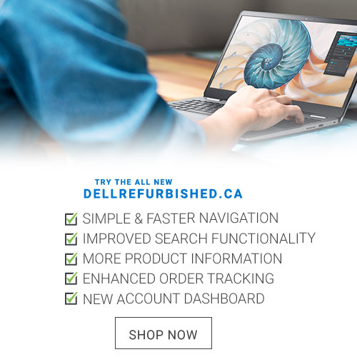 Try The New DellRefurbished.ca